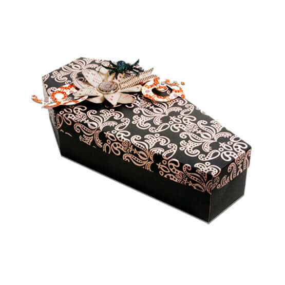 Printed Coffin Shaped Boxes