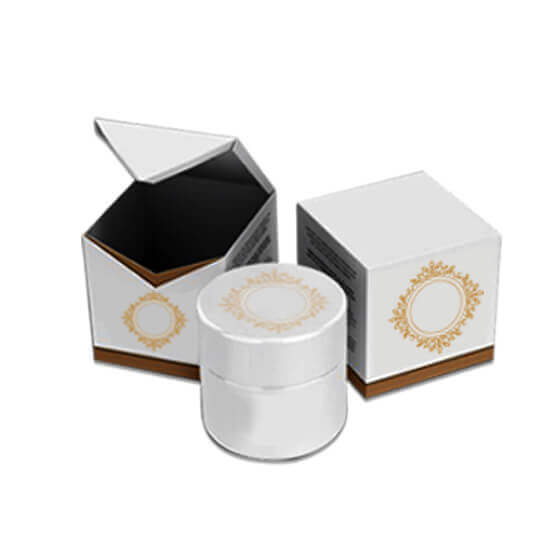 Printed Cosmetic Cream Boxes