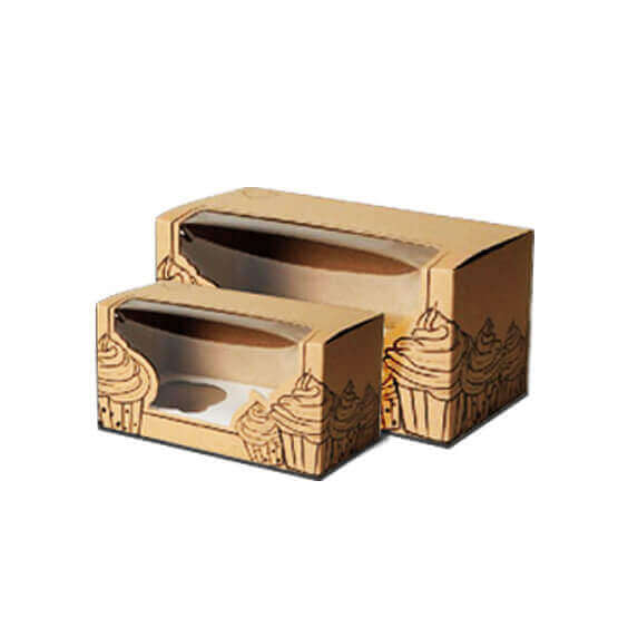 Wholesale Kraft Bakery Boxes