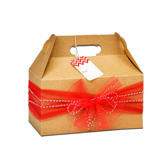 Wholesale Kraft Gable Boxes