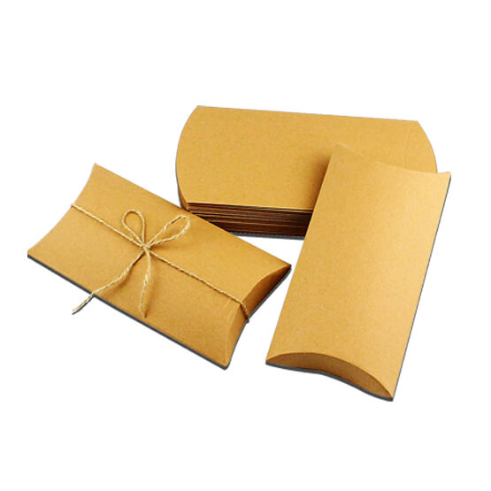 Wholesale Kraft Pilow Boxes