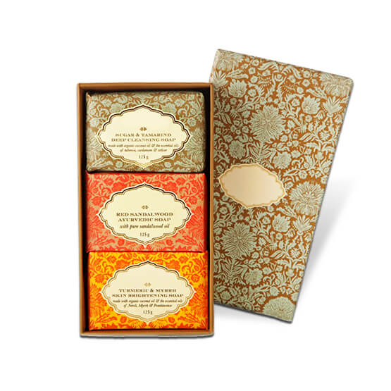 Printed Soap Gift Boxes