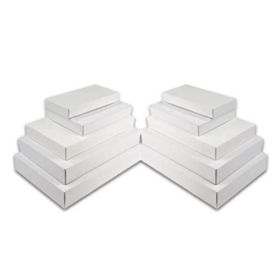 Printed White Apperal Boxes
