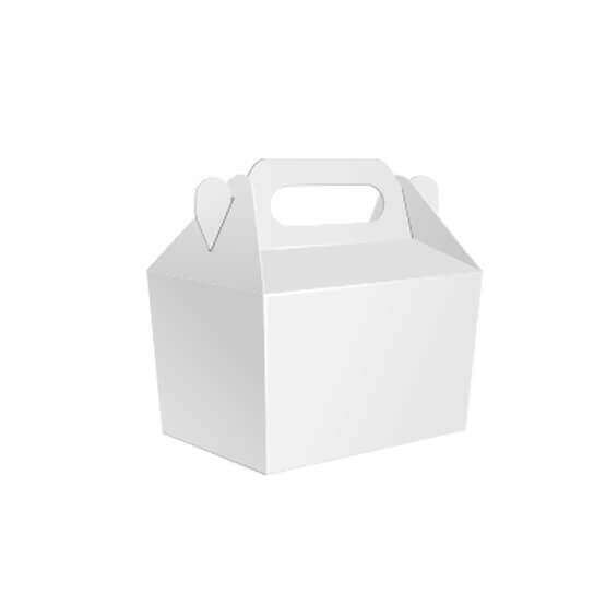 Custom White Gable Boxes