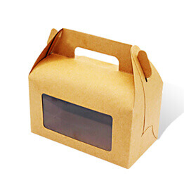 Kraft Window Boxes
